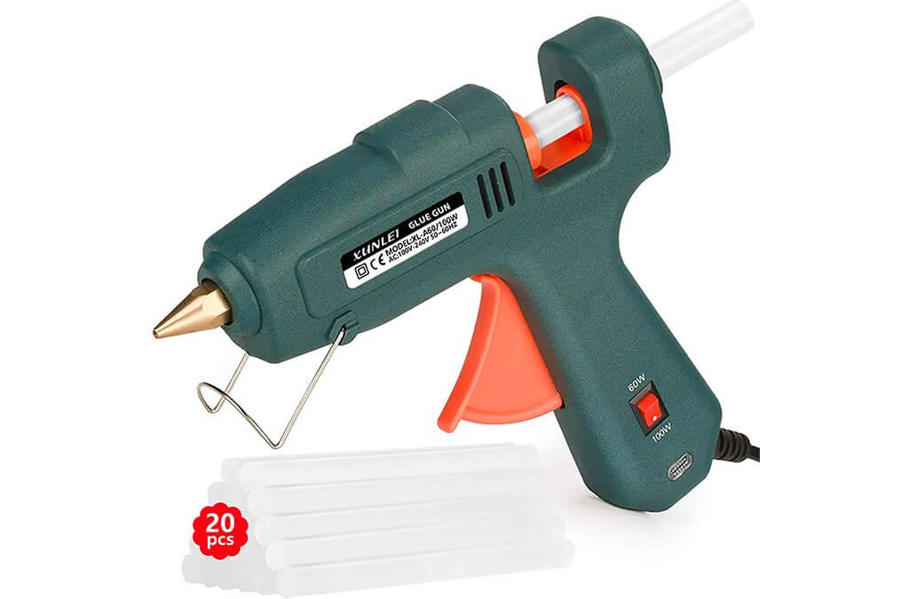 4. Hot Glue Gun, Powerful 60/100W Glue Gun Kit