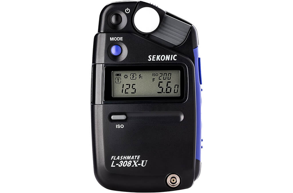 4. Sekonic L-308X-U Flashmate Light Meter