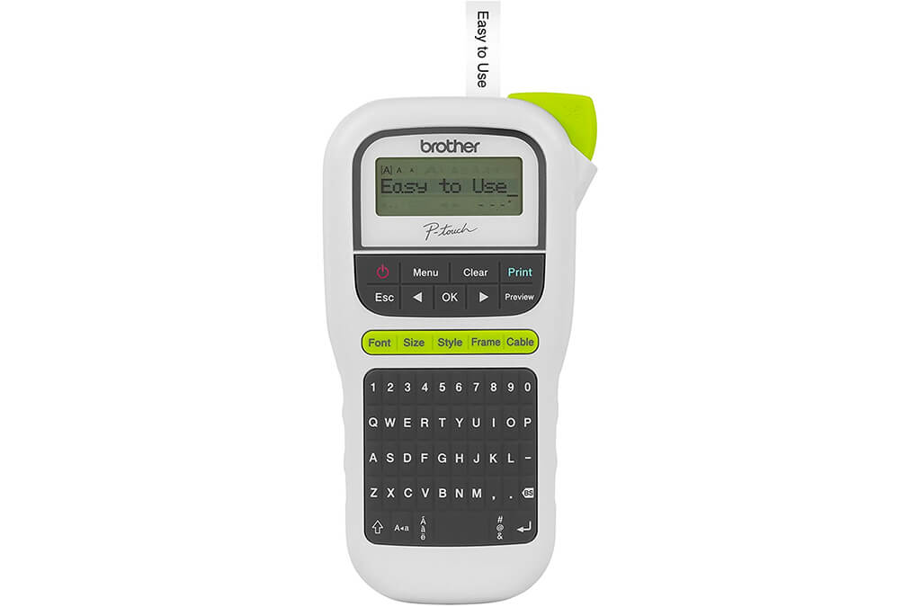 5. Brother P-touch, PTH110, Easy Portable Label Maker
