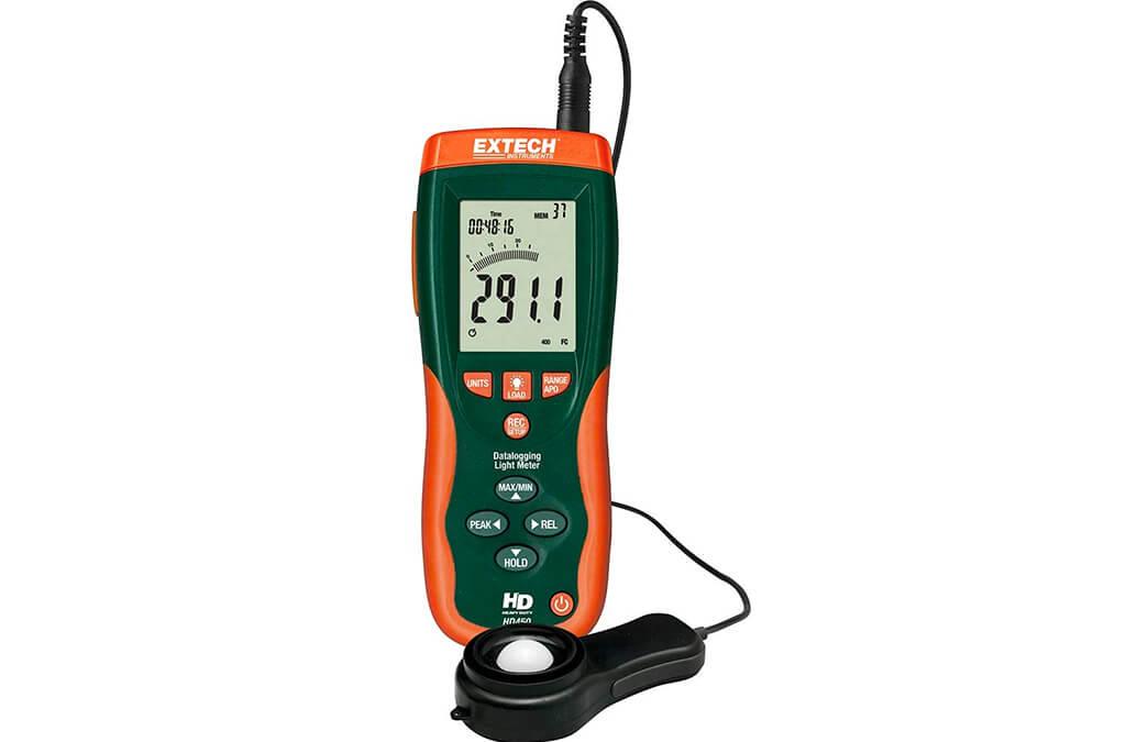 7. Extech HD450 Datalogging Heavy Duty Light Meter