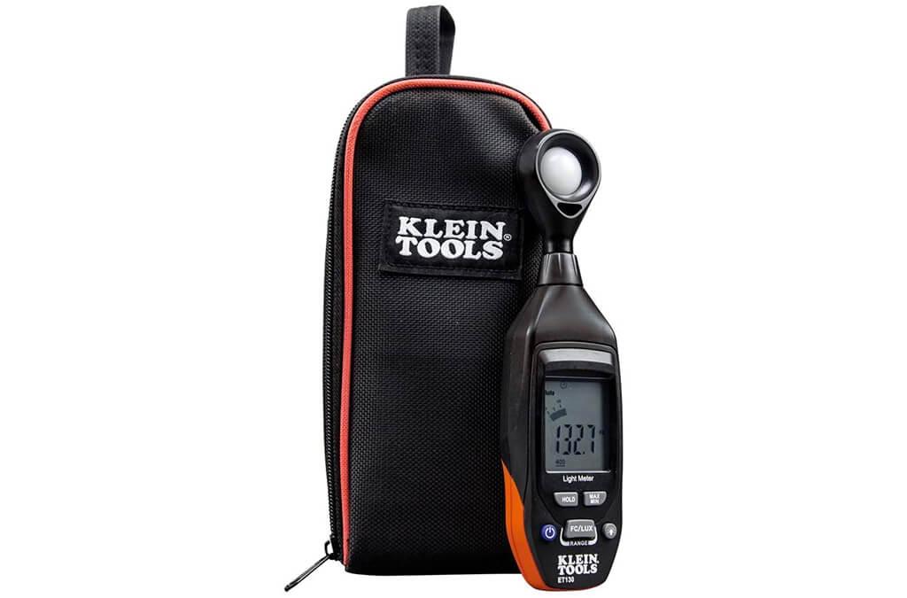 8. Klein Tools ET130 Digital Light Meter